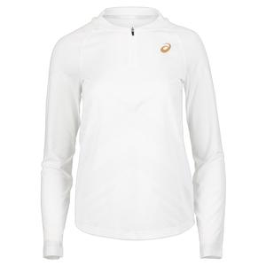 Women`s Long Sleeve PR Tennis Top Brilliant White
