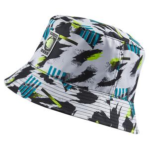Challenge Reversible Tennis Bucket Hat Black