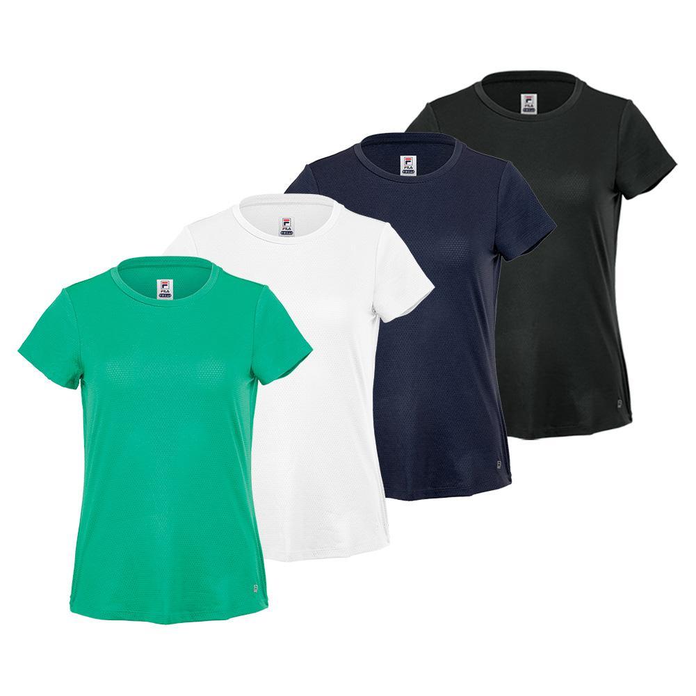 Women's Essentials Short Sleeve Tennis Top