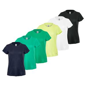 Women`s Essentials Short Sleeve Tennis Top