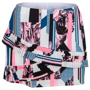 Women`s Kyla 13.5 Inch Tennis Skort Brilliant Print