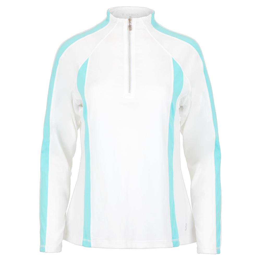 Women's Long Sleeve Tennis Top White And Air