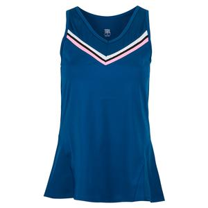 Women`s Anne Tennis Tank Royal