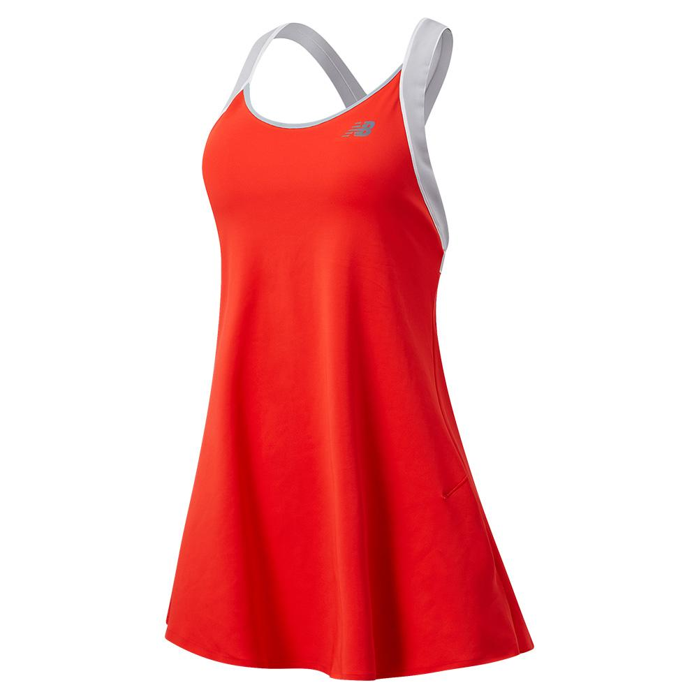 Women's Tournament Tennis Dress Neo Flame