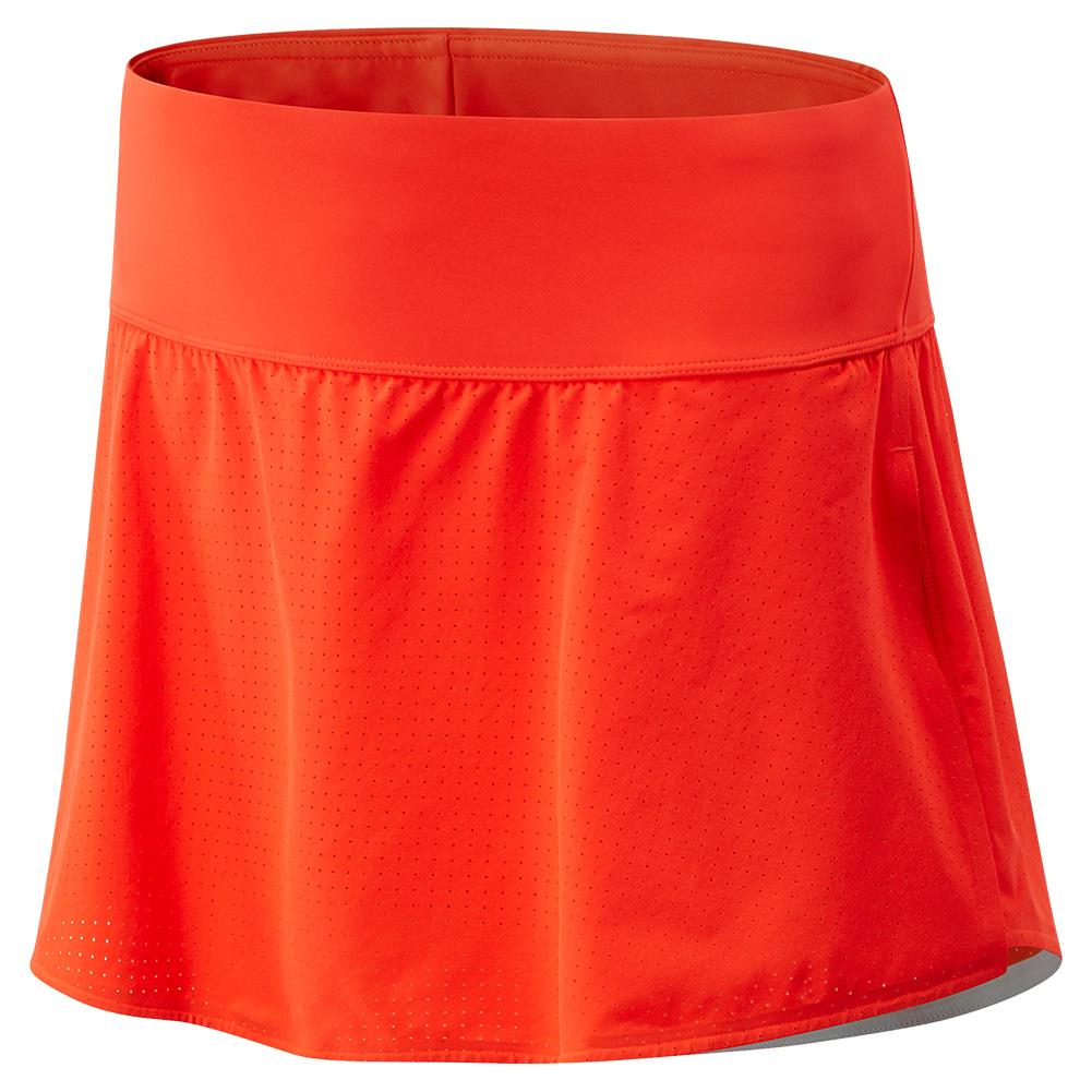 Women's Woven Tournament Tennis Skort Neo Flame
