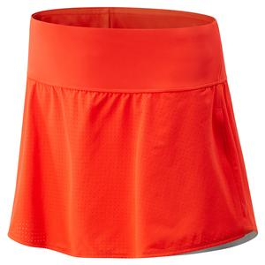 Women`s Woven Tournament Tennis Skort Neo Flame