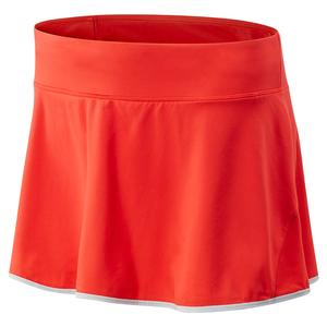 Women`s Rally 13 Inch Tennis Skort Neo Flame