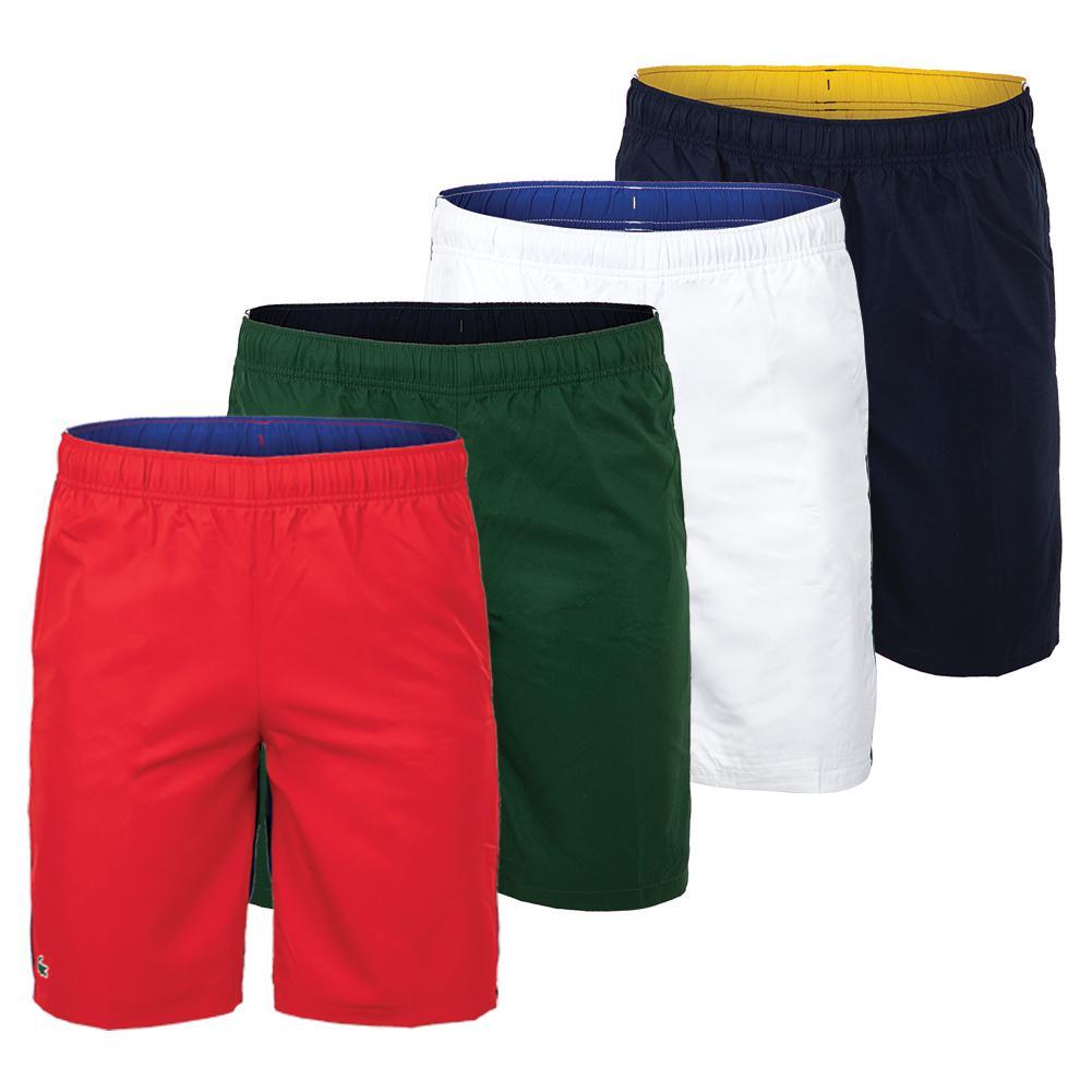 Men's Color Block Tennis Short