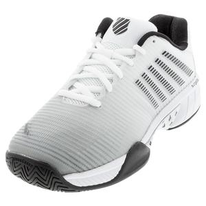 Men`s Hypercourt Express 2 2E Tennis Shoes White and Highrise