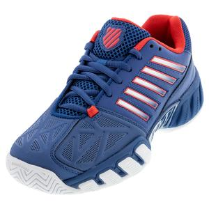 Juniors` Bigshot Light 3 Tennis Shoes Dark Blue and Bittersweet