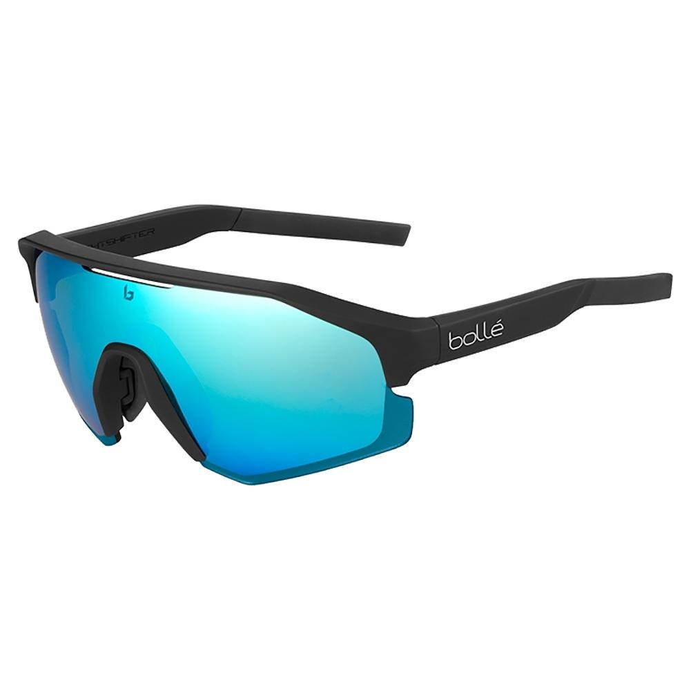 Lightshifter Tennis Sunglasses Matte Black And Tns Ice