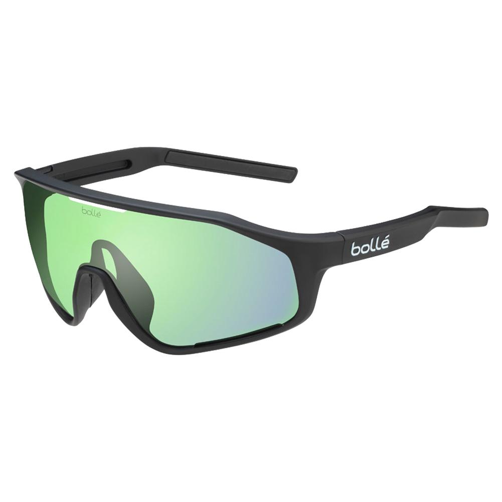 Shifter Performance Sunglasses Matte Black And Phantom Clear Green