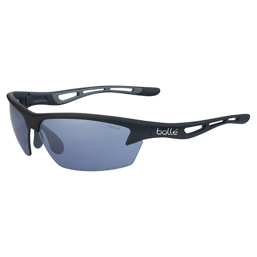 Bolt Tennis Sunglasses Matte Black And Phantom Court