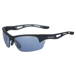 Bolt S Tennis Sunglasses Matte Black and Phantom Court