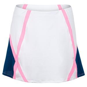 Women`s Lana 13.5 Inch Tennis Skort Chalk