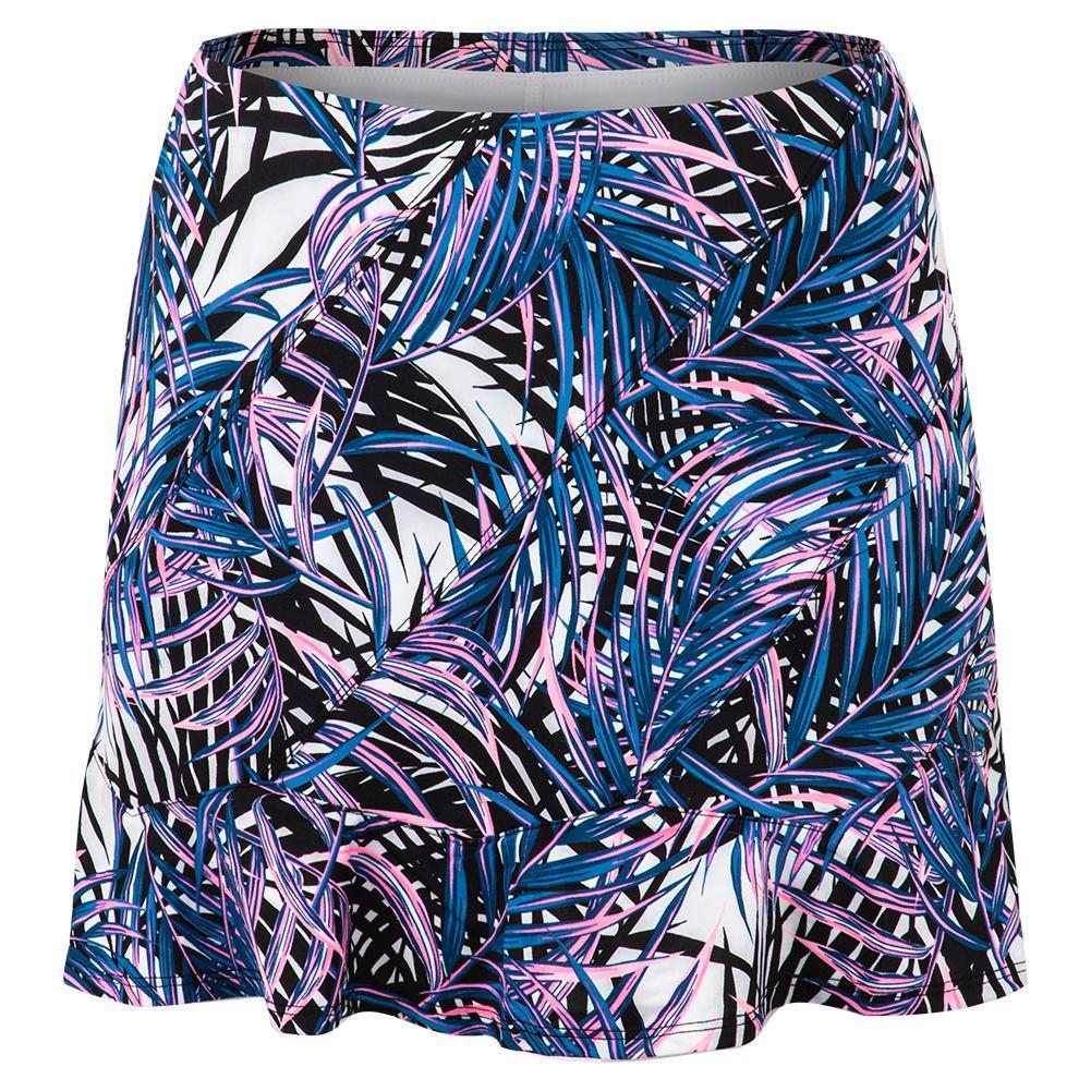 Women's Kailey 14.5 Inch Tennis Skort Palm Isle Print