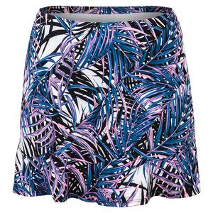 Women`s Kailey 14.5 Inch Tennis Skort Palm Isle Print
