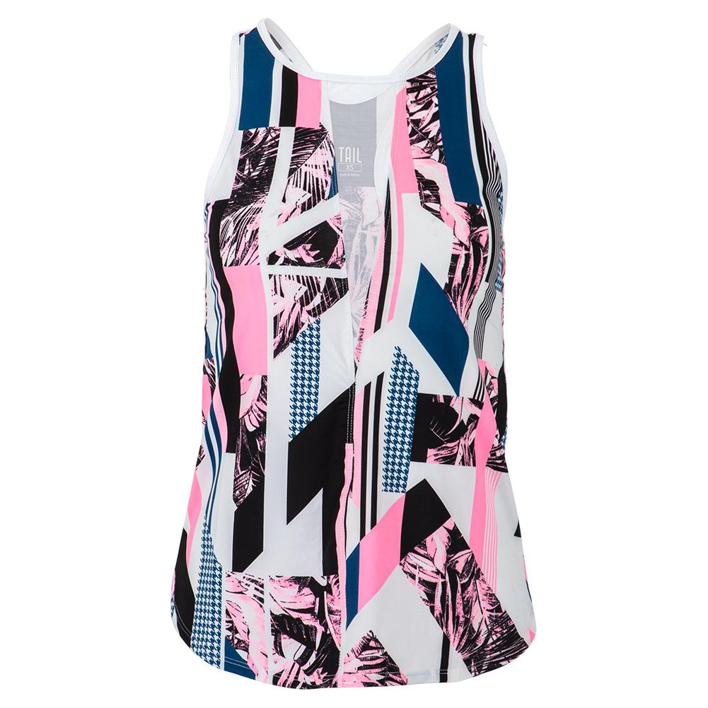 Women's Riza Tennis Tank Brilliant Print