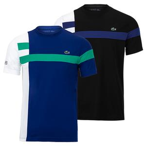 Men`s Color Block Tennis Top