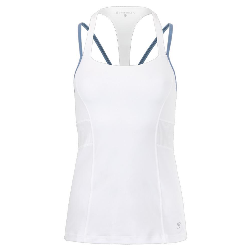 Women's Tennis Cami White And Patagonia