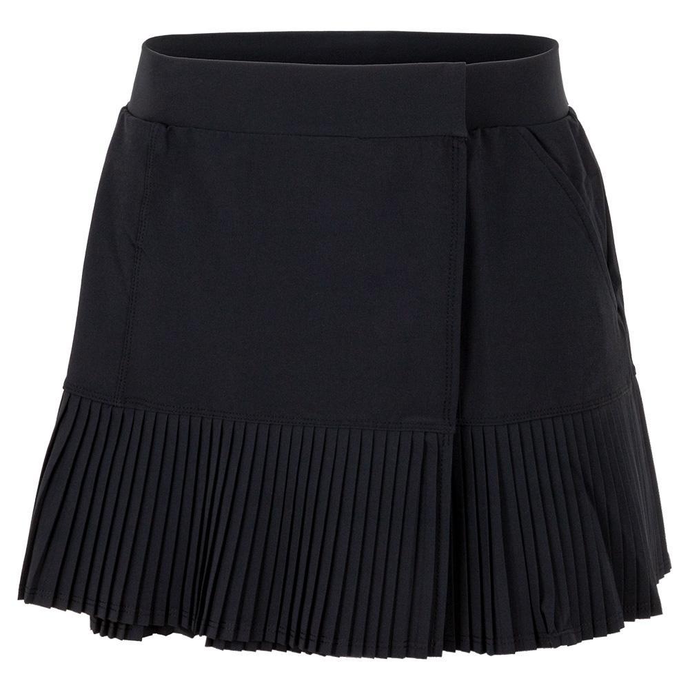 Women's Nina 13.5 Inch Snap Tennis Skirt Onyx