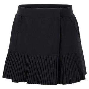 Women`s Nina 13.5 Inch Snap Tennis Skirt Onyx