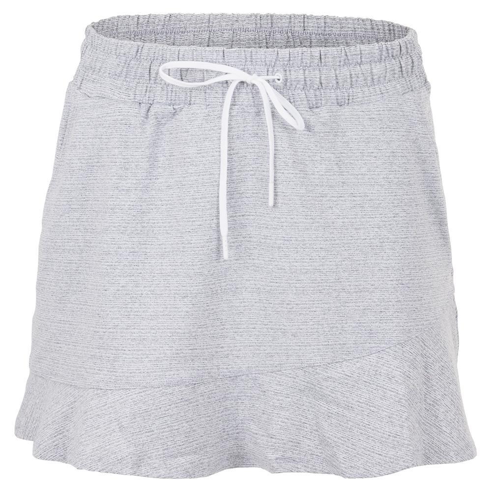 Women's Dakota 13.5 Inch Tennis Skirt Snow Heather