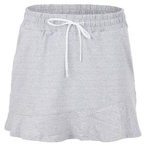 Women`s Dakota 13.5 Inch Tennis Skirt Snow Heather