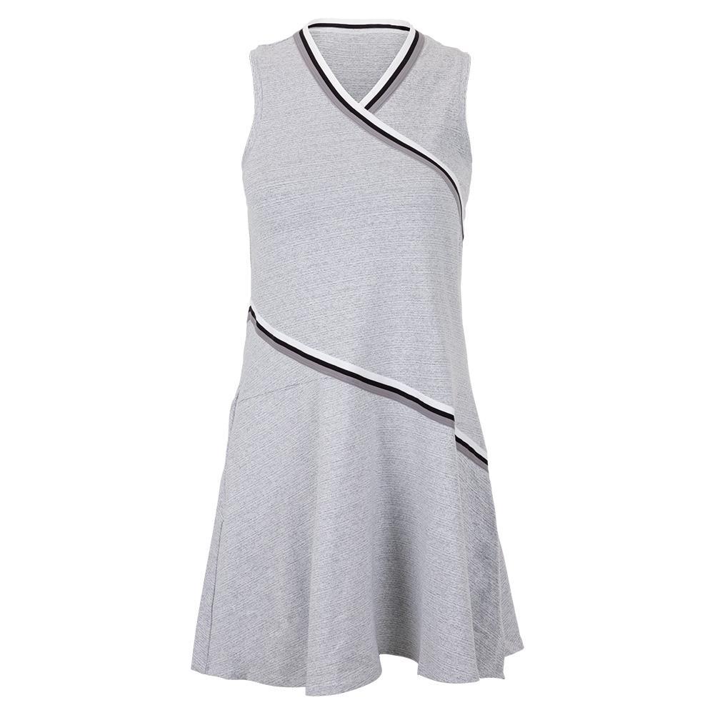 Women's Ellie Tennis Dress Snow Heather