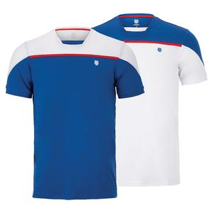 Men`s Hypercourt Block Tennis Crew Tee 2
