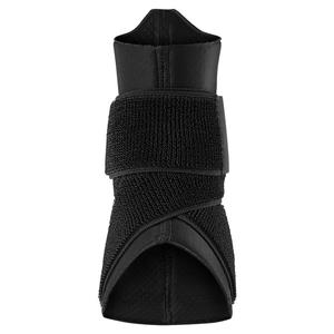 Pro Ankle Sleeve with Strap Black and White