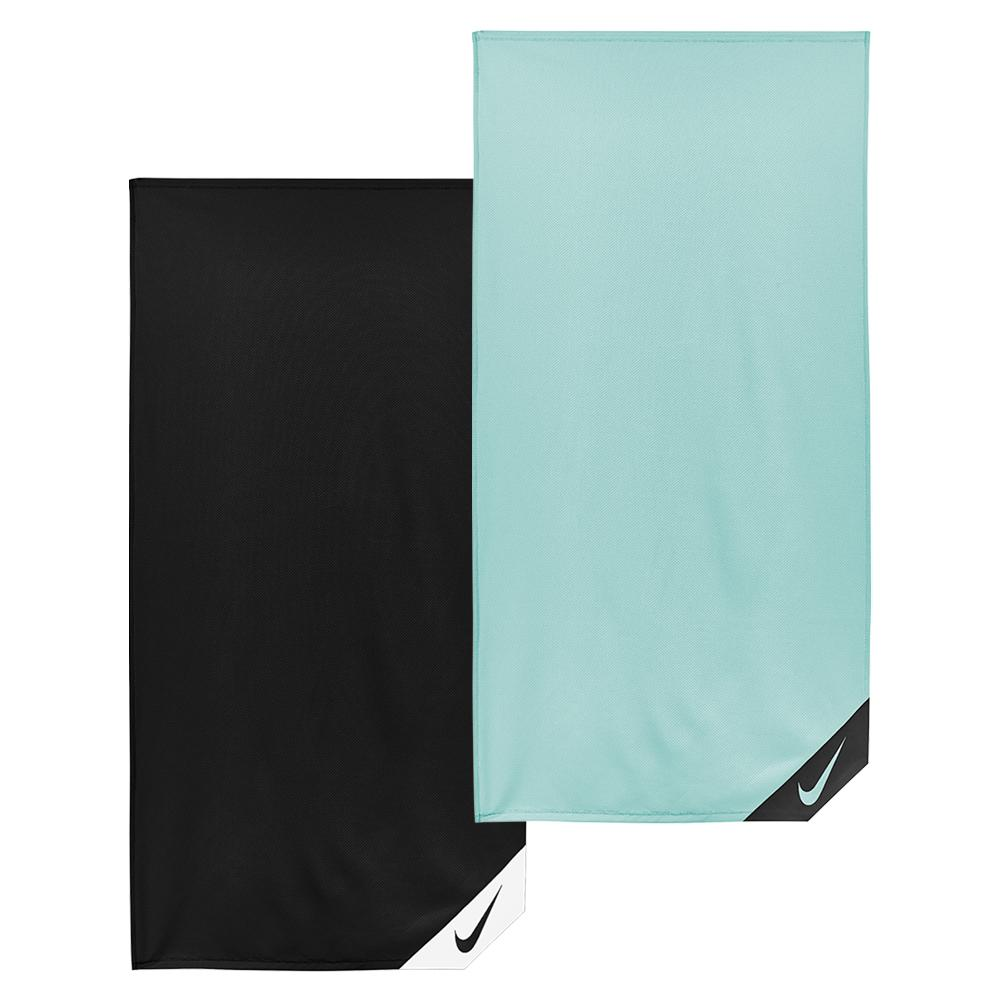 Nike small logo towel black, teal