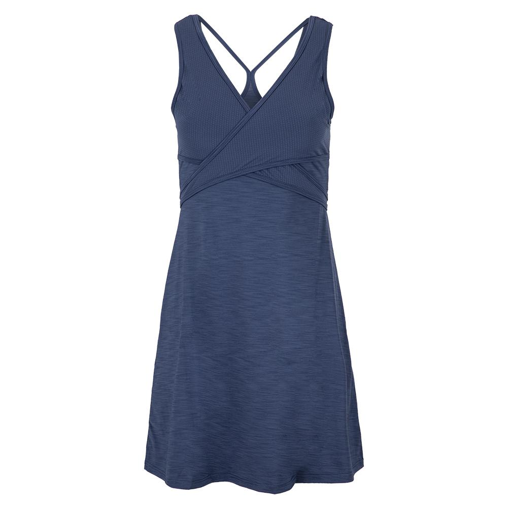 Women's Cosmic Tennis Dress Cloudy Indigo