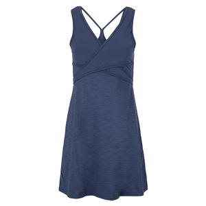 Women`s Cosmic Tennis Dress Cloudy Indigo