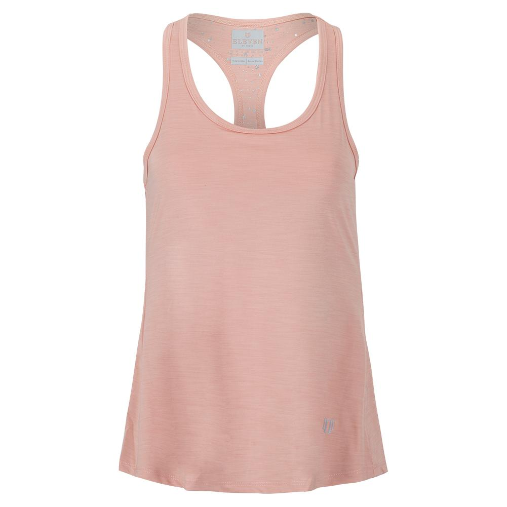 Women's Race Day Tennis Tank Top Blush