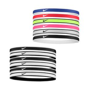 Tipped Swoosh Sport Headbands 6 Pack 2.0