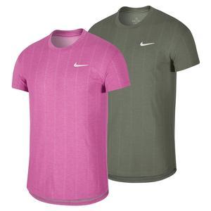 Men`s Court Challenger Short Sleeve Tennis Top