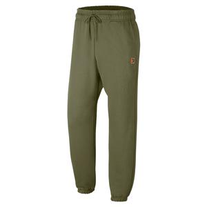 Men`s Court Heritage Fleece Tennis Pant Medium Olive