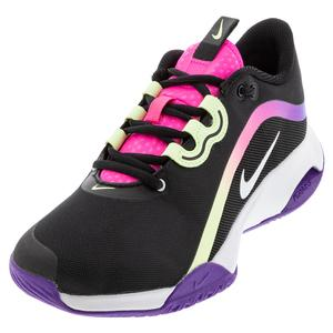 Women`s Air Max Volley Tennis Shoes Black and White