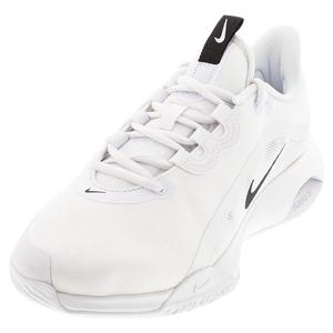 Men`s Air Max Volley Tennis Shoes White and Black