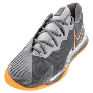 Men`s Court Air Zoom Vapor Cage 4 Tennis Shoes Metallic Dark Grey