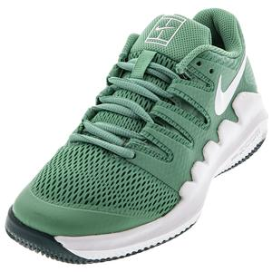 Juniors` Court Vapor X Tennis Shoes Healing Jade and White
