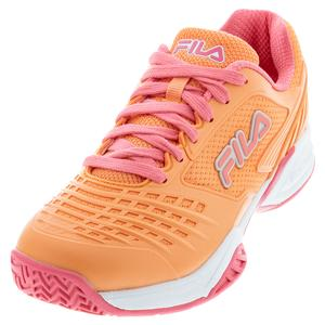 Women`s Axilus 2 Energized Tennis Shoes Melon and White