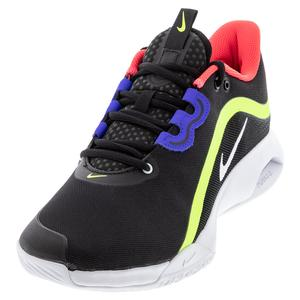 Men`s Air Max Volley Tennis Shoes Black and White