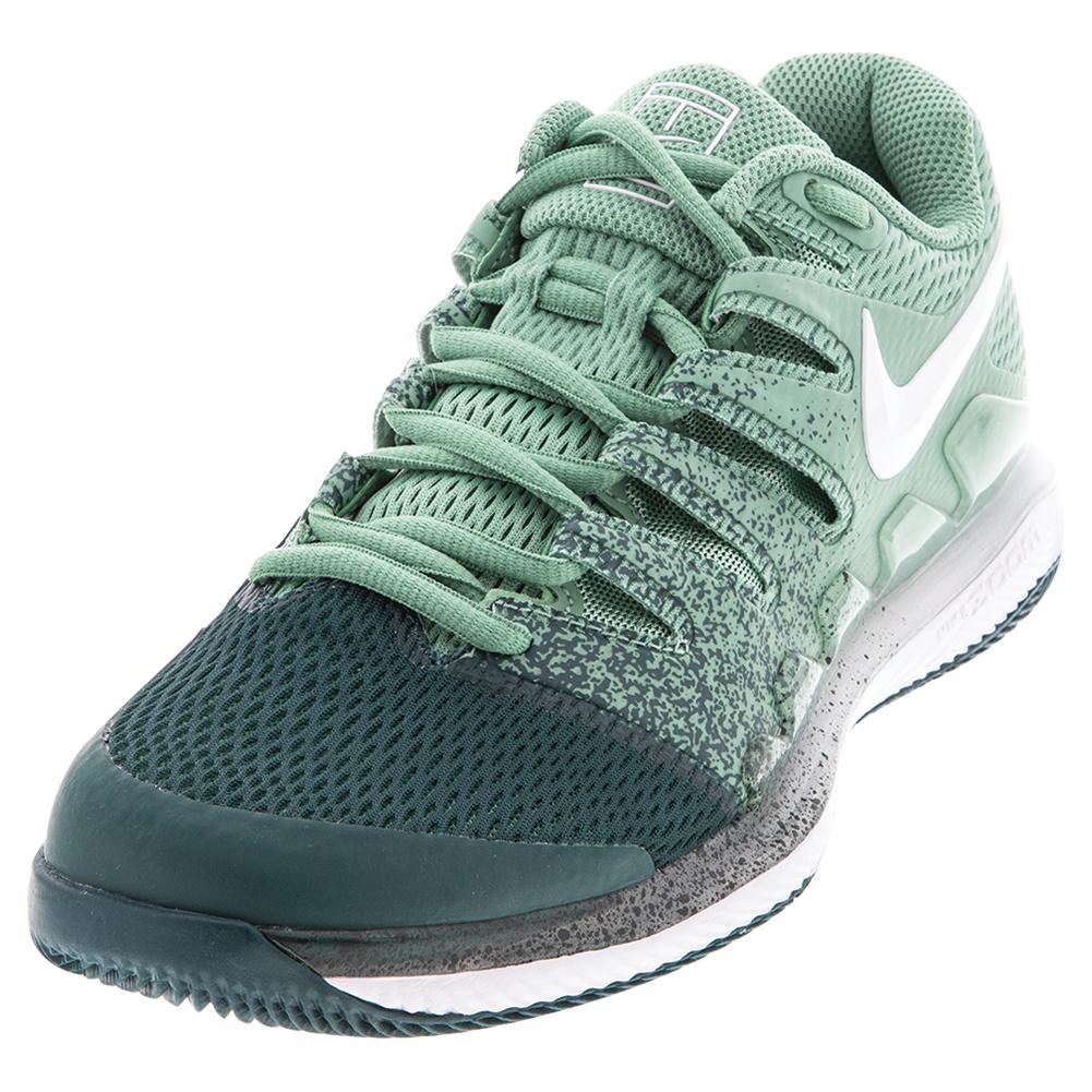 Women's Air Zoom Vapor X Tennis Shoes Healing Jade And White