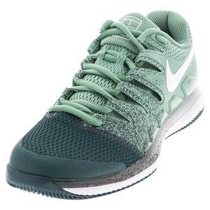 Women`s Air Zoom Vapor X Tennis Shoes Healing Jade and White