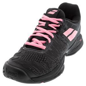 Women`s Propulse Blast All Court Tennis Shoes Black and Geranium Pink