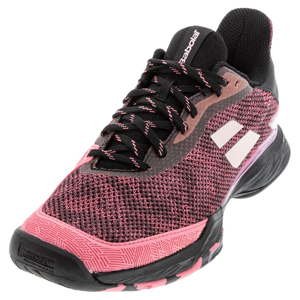 Women's Jet Tere All Court Tennis Shoes Pink And Black
