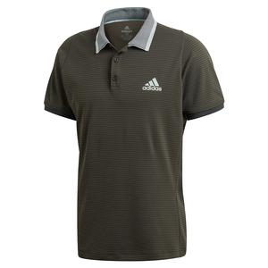 Men`s Freelift Tennis Polo Legend Earth and Green Tint