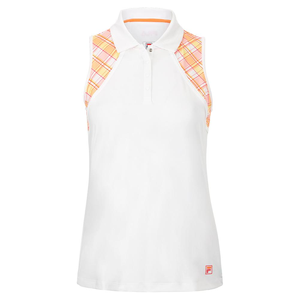 Women's Mad For Plaid Sleeveless Tennis Polo